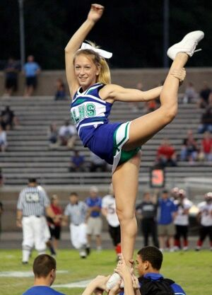 cheerleaders upskirts
