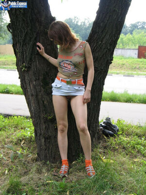 hot teen fucked in public