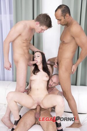 hailey young gangbang
